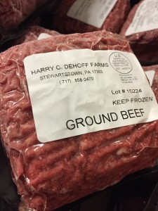 Harry C Dehoff Farm Ground Beef
