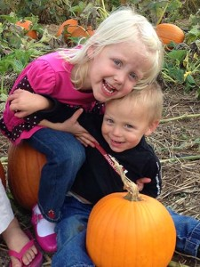 Pick your own pumpkin at Flinchbaugh's Orchard & Farm Market