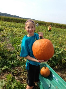 Pick and paint your own pumpkin at FLinchbaugh's Orchard & Farm Market
