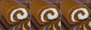 Flinchbaugh's delicious pumpkin roll!
