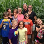 Great family corn maze picture