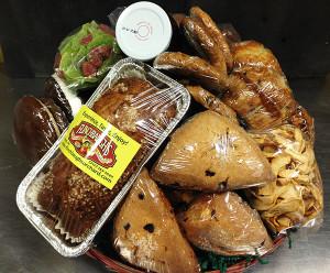 Flinchbaughs Orchard and Farm Market Office Sampler Basket