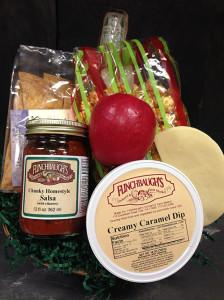 Flinchbaughs Orchard and Farm Market Snacker Basket