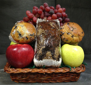 "Flinchbaughs Orchard and Farm Market's ""The Perfect Size"" Gift Basket"