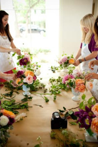 DIY Fresh Floral Arranging Class