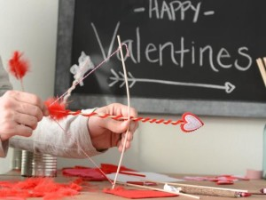 Kids Crafts with Cupid