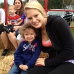 Baylee Seidenstricker with my niece Erica Little from Red Lion