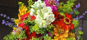 Backyard Blooms: Flower Arranging Class