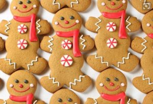 Cookies with Santa and Model Toy Trains for the Kids
